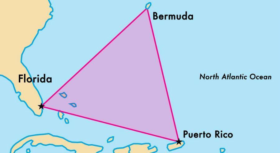 آشنایی با مثلث برمودا مرموزترین نقطه جهان