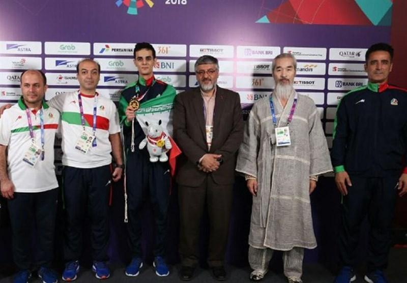 بازی های آسیایی 2018، پولادگر: حسینی با شایستگی تمام به مردم ایران عیدی داد، قرعه او بسیار سخت بود
