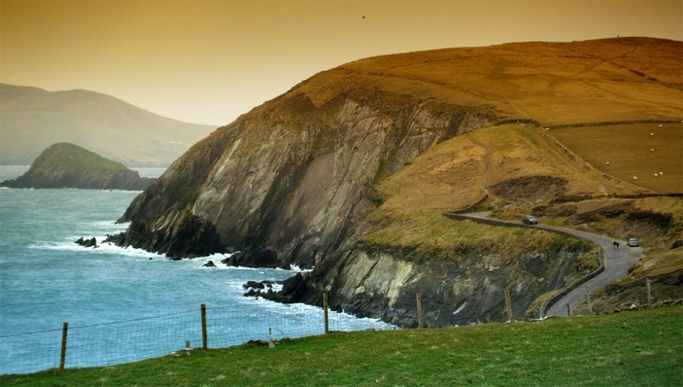 مسیر زیبا در ایرلند