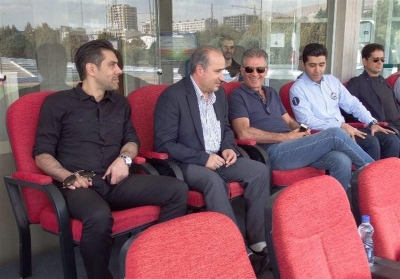 حضور رئیس فدراسیون فوتبال در اردوی تیم ملی