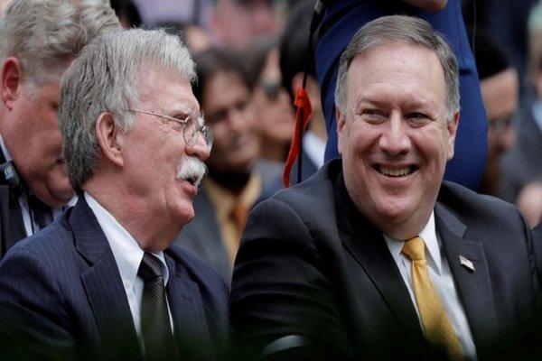ذوق زدگی پمپئو و بولتون از اقدام ضد ایرانی آلمان
