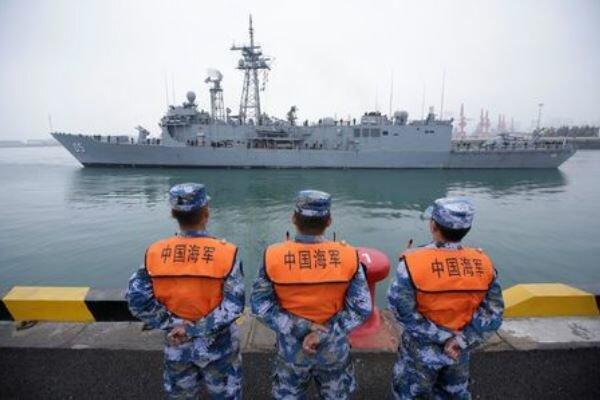 رزم ناوهای هند و استرالیا در چینگدائو چین پهلو گرفتند