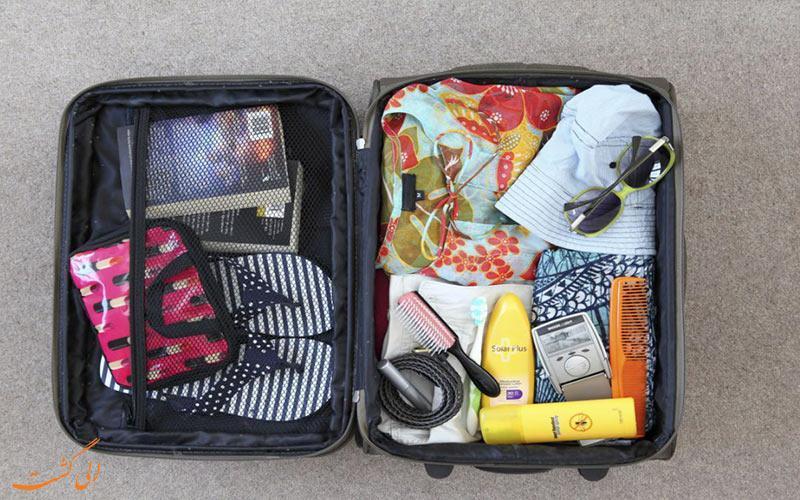 15 روش هوشمندانه برای بستن چمدان سفر