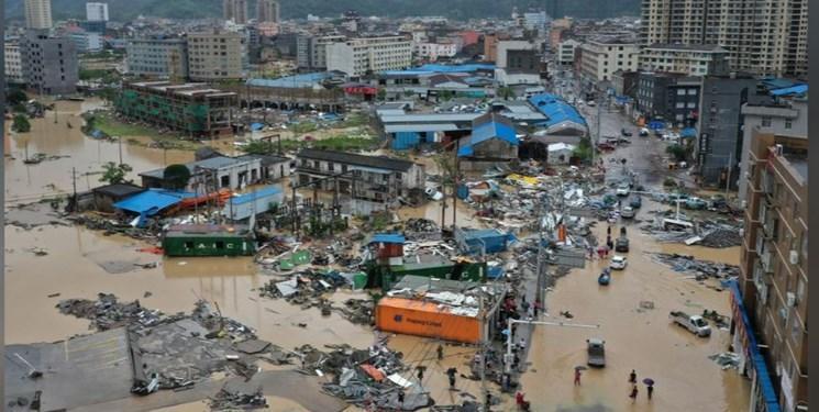 تلفات طوفان در شرق چین به 28 نفر رسید