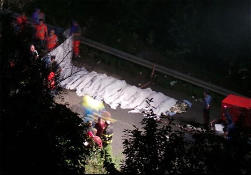 افزایش تلفات حادثه اتوبوس در ایتالیا به دست کم 39 کشته