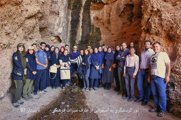 تور یک روزه بازدید خبرنگاران از جاذبه های گردشگری و تاریخی اسفراین برگزار گردید