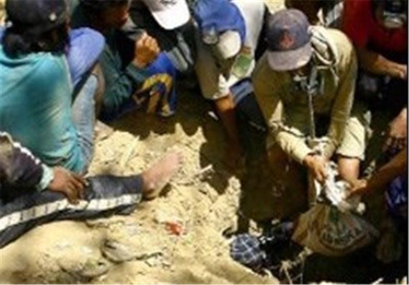 ریزش معدن طلا در اندونزی 4 کشته برجای گذاشت
