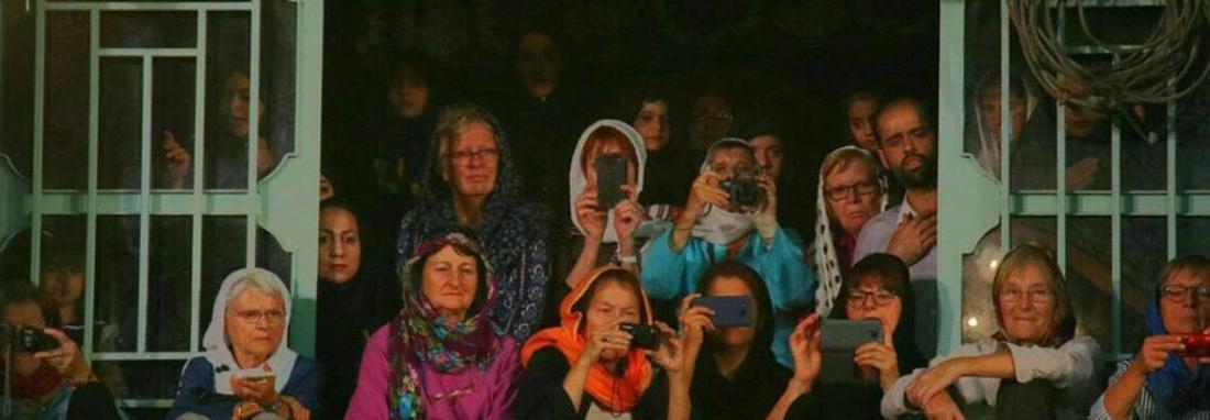 حضور گردشگران 9 کشور اروپایی در محرم یزد ، آلمانی ها و هلندی ها بیشترین تماشاگران عزاداری یزدی ها بودند