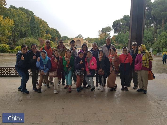 افزایش 4 برابری بازدید گردشگران چینی از جاذبه های اصفهان