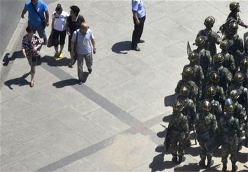 کشته شدن 13 نفر توسط پلیس چین در سین کیانگ