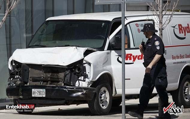 تصاویر : برخورد مرگبار خودرو به رهگذران در محله ایرانی نشین تورنتو