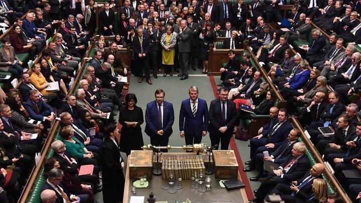 مجلس انگلیس تصویب کرد ، برگزاری انتخابات زودرس پارلمانی در 12 دسامبر