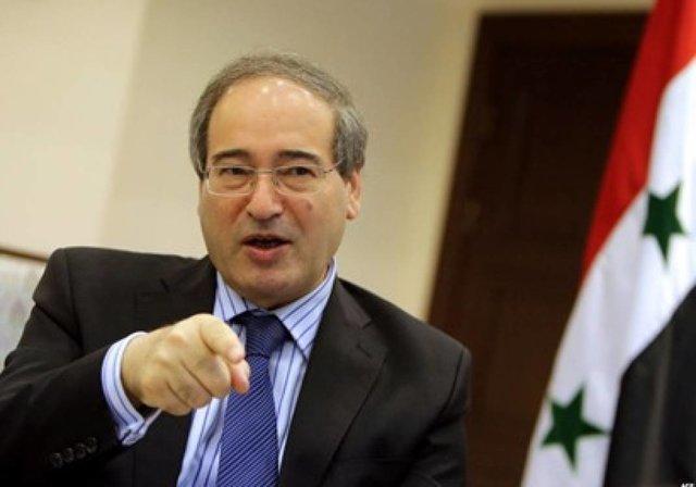 فیصل المقداد: کوشش های ترکیه برای ایجاد منطقه امن نقض قوانین بین المللی است