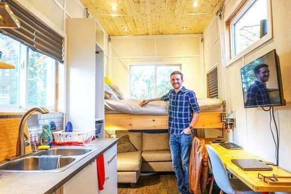 خانه قابل حمل 15 هزار دلاری ساخته شد