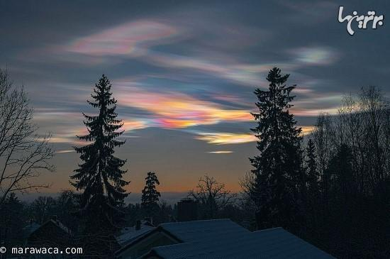 راز ابرهای رنگین کمانیِ قطبی چیست؟