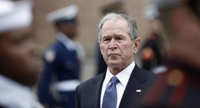 نگرانی جورج بوش از دوران بی ثباتی آمریکا