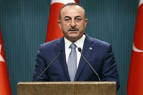 حمله شدید وزیر خارجه ترکیه به رئیس جمهور فرانسه