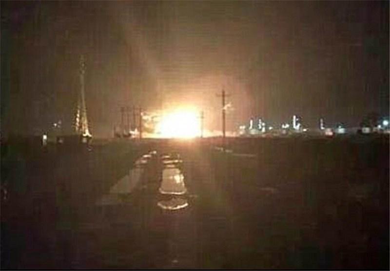 انفجار مهیب در کارخانه مواد شیمیایی در شرق چین
