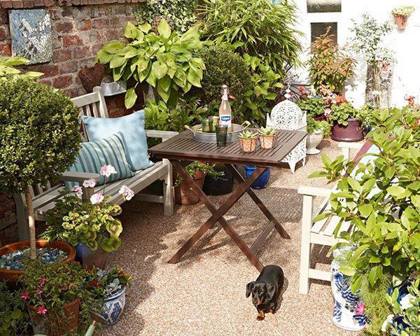 جذاب ترین ایده های طراحی باغ های کوچک