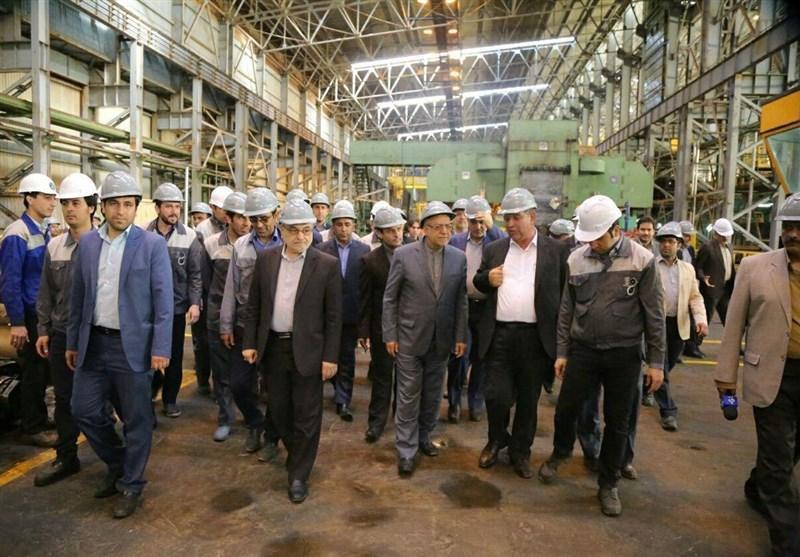 جشن دستیابی به فراوری 30 هزار تنی شرکت فولاد غرب آسیا در قم برگزار گردید