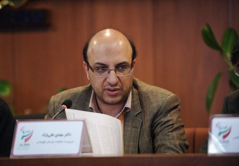 علی نژاد: مسئله ای نبوده که کیمیا علیزاده بخواهد از ایران برود ، ظرفیت کشتی 4 مدال طلای المپیک است که در لندن هم نشان داد