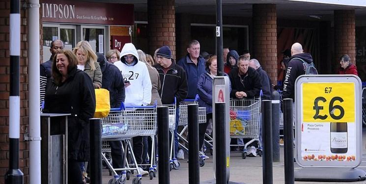 شیوع کرونا ، انتقاد مقامات انگلیسی از هجوم مردم به فروشگاه ها