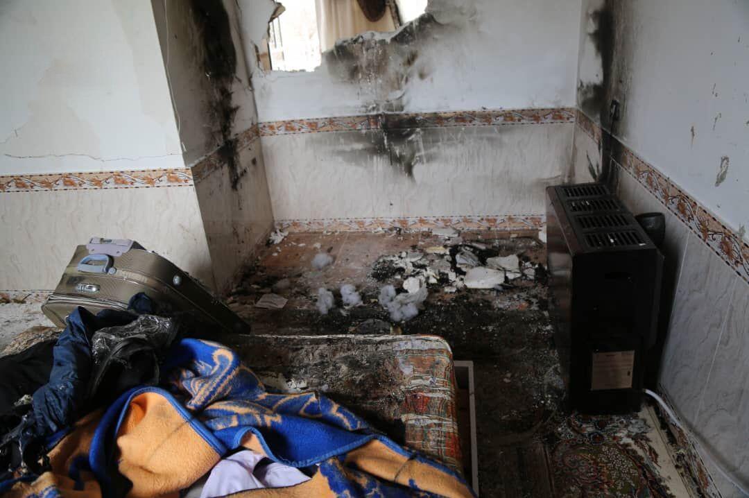 خبرنگاران انفجار گاز در واحد مسکونی منطقه بهارستان اهواز