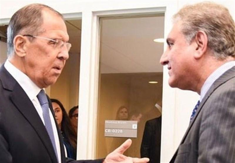 گفتگوی تلفنی وزرای خارجه پاکستان و روسیه پیرامون آخرین تحولات منطقه