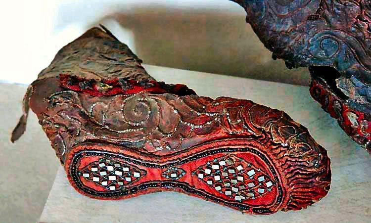 پوتین زن سکایی، هنر شگفت انگیز در 2300 سال پیش