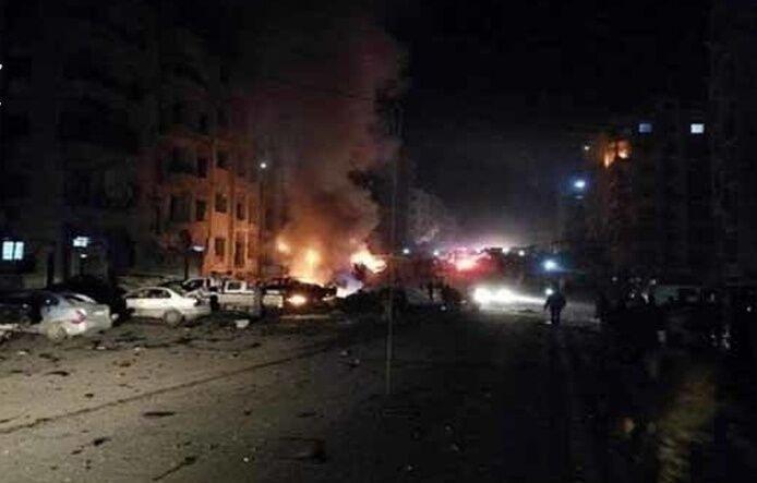 خبرنگاران انفجار خودرو در شهر مرزی سوریه و ترکیه 4 کشته برجا گذاشت