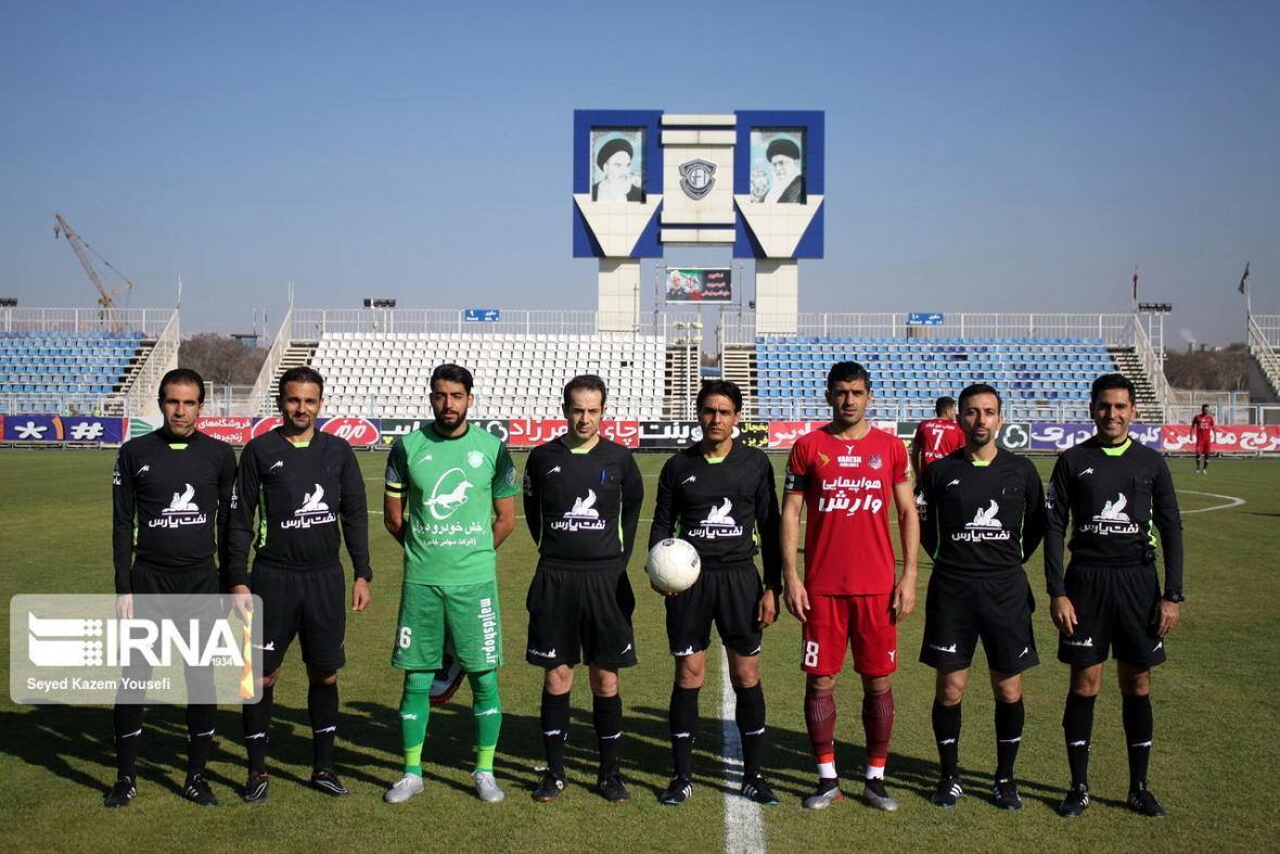 خبرنگاران داوران هفته بیست و نهم لیگ برتر فوتبال مشخص شدند