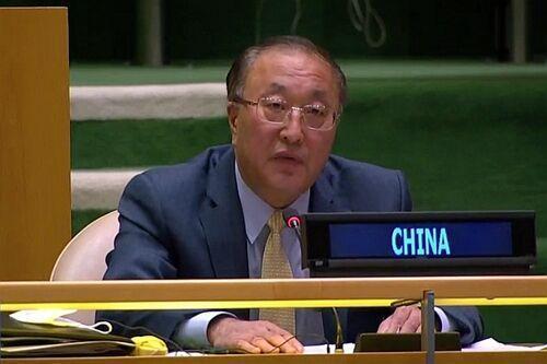 خبرنگاران انتقاد چین از نقض حقوق بشر در آمریکا: تحریم ها را بردارید