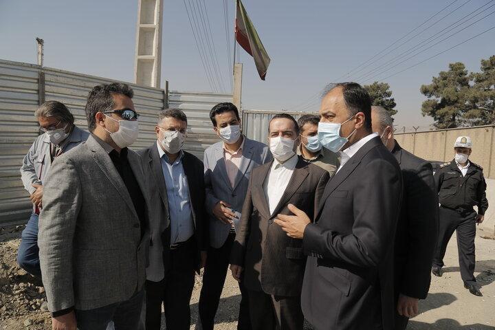 زیر گذر غیرهمسطح بزرگراه فتح-باغستان، بهار1400 به بهره برداری می رسد