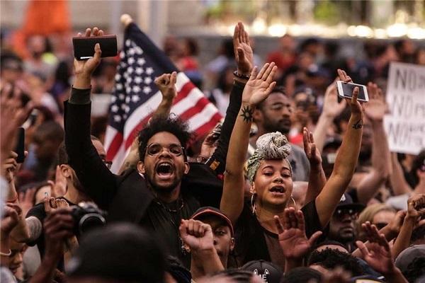 بازداشت 60 نفر در ناآرامی های انتخاباتی آمریکا