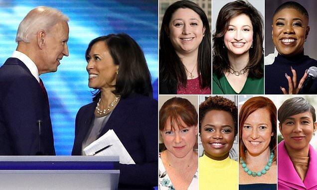 تیم ارتباطی کاملا زنانه بایدن در کاخ سفید