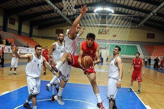 ادامه صدرنشینی قزوین در گروه ب لیگ بسکتبال