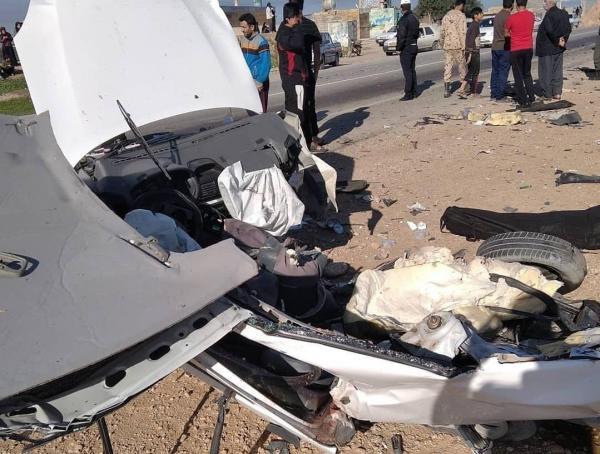 سانحه رانندگی مرگبار در محور رامهرمز -بهبهان
