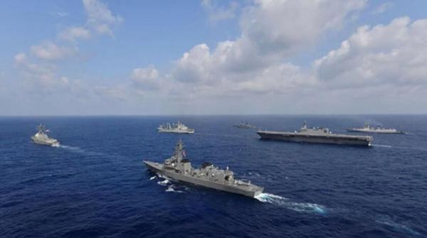 مانور دریایی مشترک ژاپن، آمریکا و فرانسه برگزار گردید