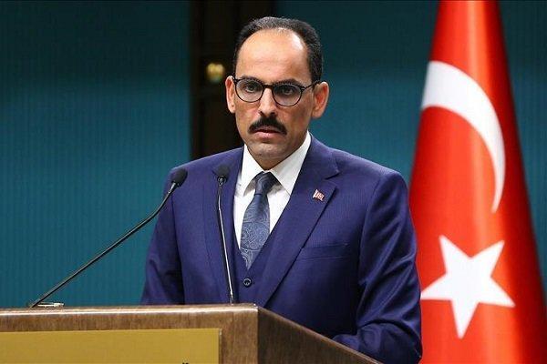 ابراهیم کالین: آمریکا باید نگرانی های امنیتی ترکیه را درک کند