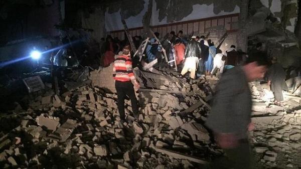بیش از 55 کشته و زخمی در انفجار افغانستان