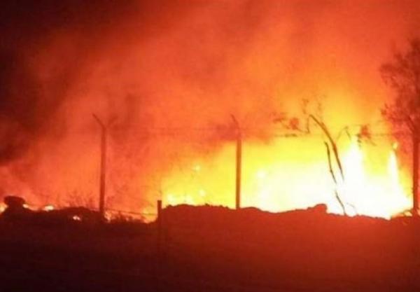 ارتش انگلیس یک منطقه حفاظت شده در کنیا را به آتش کشید