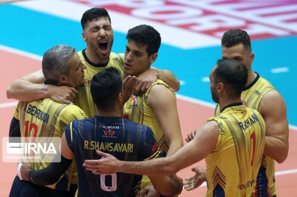 قهرمانی فولاد سیرجان در والیبال ایران