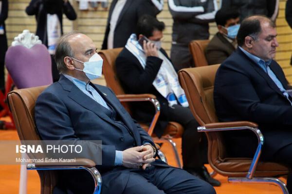 بازدید سلطانی فر از تمرین های تیم ملی وزنه برداری