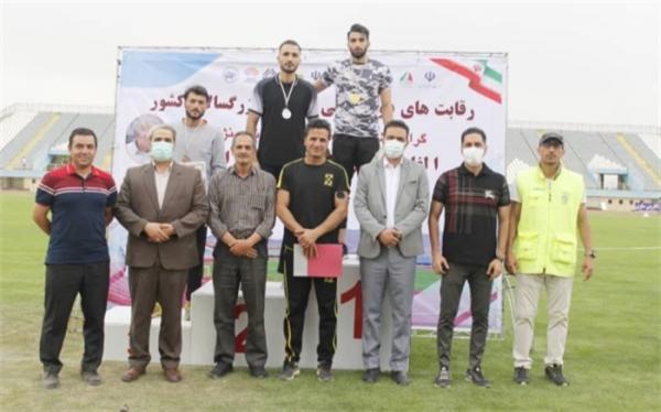 دوومیدانی قهرمانی ایران؛ قهرمان پرس سه گام معرفی گشت