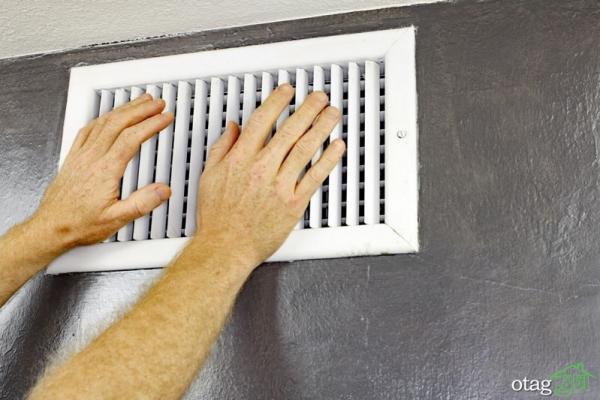 آموزش روش نصب دریچه کولر دیواری در شش مرحله ساده و سریع