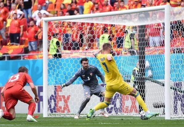یورو 2020، رجحان یک نیمه ای اوکراین مقابل مقدونیه شمالی