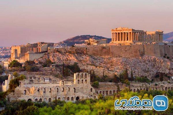 بسیاری از مکان های تاریخی مهم یونان در معرض خطر قرار گرفتند
