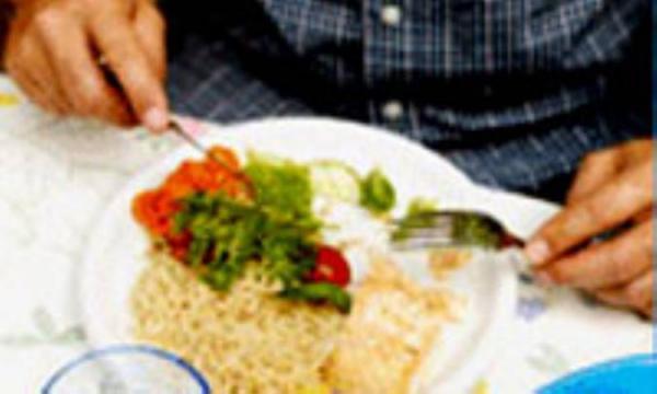 12 شرط د رست غذا خورد ن