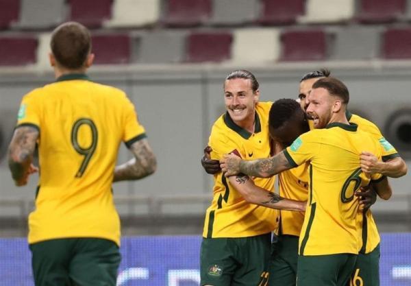تور عمان: انتخابی جام جهانی 2022، صدرنشینی استرالیا با فزونی برابر عمان